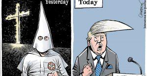 Ku Klux Klan - Trump já recebeu apoio do KKK e de David Duke