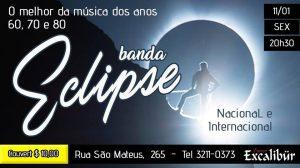 Espaço Excalibur - Banda Eclipse - Ombrelo