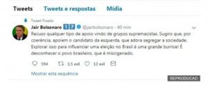 Ku Klux Klan - Jair Bolsonaro recusa apoio de David Duke