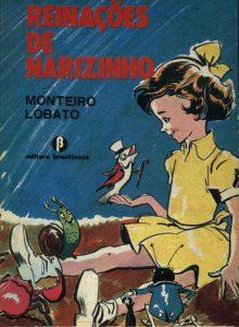Livros Brasileiros - Reinações de Narizinho deMonteiro Lobato