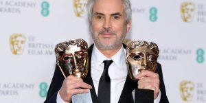 BAFTA 2019 - O diretor do filme Roma, Alfonso Cuarón