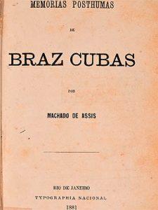 Livros brasileiros - Memórias Póstumas de Brás Cubas deMachado de Assis