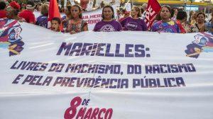 Marielle Franco - Vereadora foi homenageada no dia Internacional da Mulher