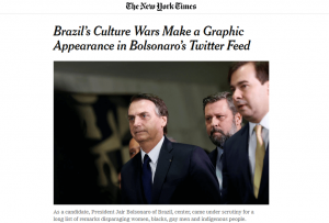 CARNAVAL - Jornal The New York Times publicou matéria sobre Bolsonaro e vídeo polêmico