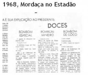 Ditadura Militar - Censura a imprensa foi instaurada no país